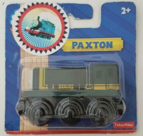 THOMAS /& FRIENDS WOODEN RAILWAY PAXTON Y5025 RARE BLACK WHEELS NEW IN BOX