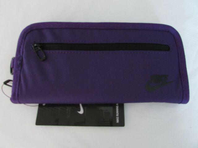 respirar Regularidad atómico  Nike Heritage Long Wallet Bi-fold Zip Unisex Color Court Purple/black for  sale online | eBay