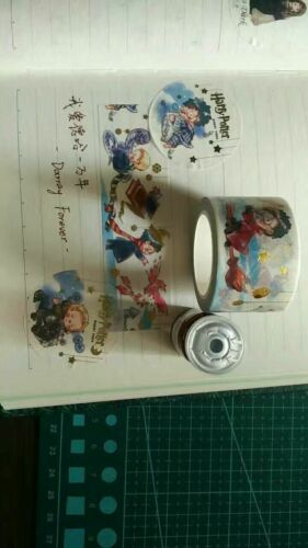 HP Deathly Hallows HP Washi Masking Adhesive Tape Cute Gift
