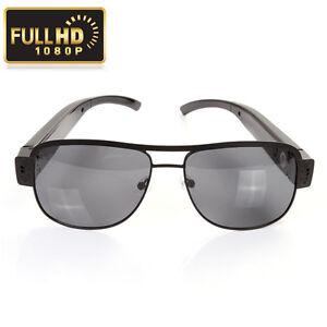 5b3d9cca71 Image is loading HD-1080P-Digital-Video-Recorder-Hidden-Camera-Sunglasses-