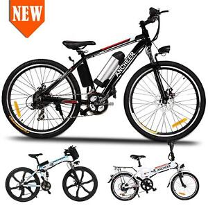 NEW-26-034-350W-36V-Folding-Electric-Mountain-Bicycle-EBike-W-Lithium-Battery