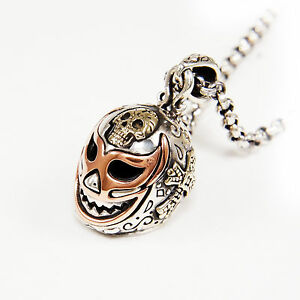 Lucha libre skull head 925 sterling silver wrestling mask mexican image is loading lucha libre skull head 925 sterling silver wrestling aloadofball Image collections