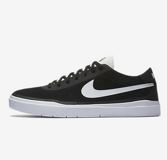 9 NIKE SB Bruin SB Premium Skate Shoes Grey White White