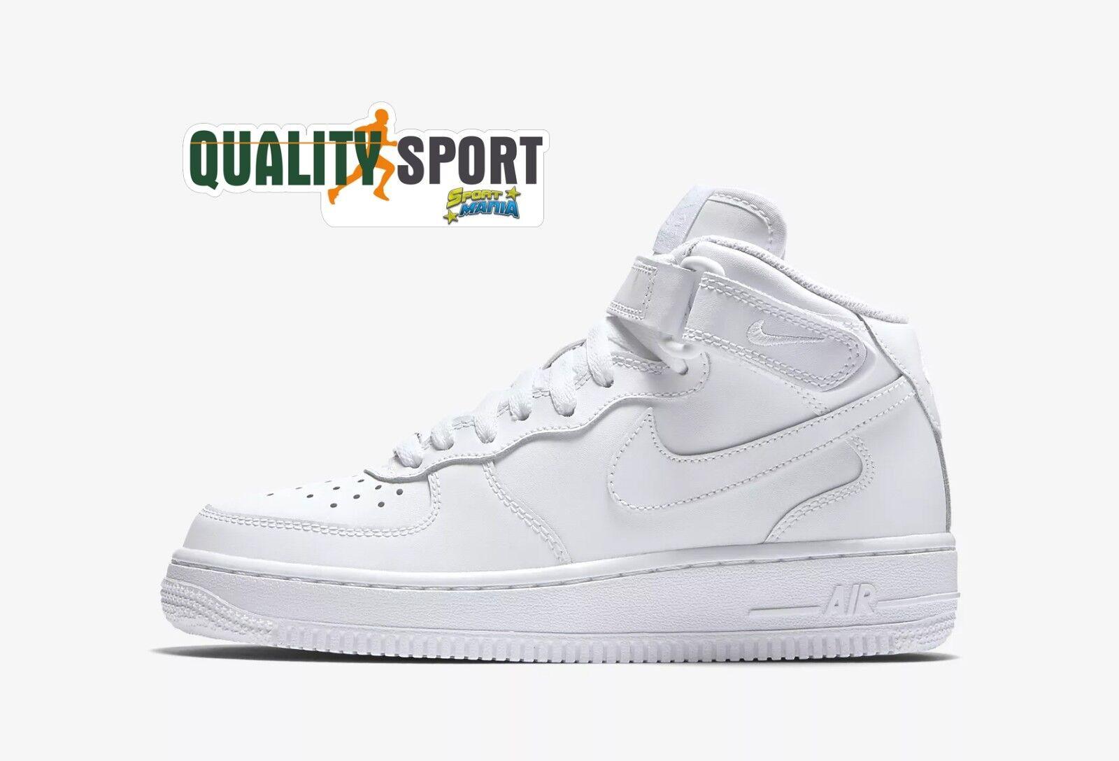 Nike Air Force 1 Mid Scarpe scarpe Donna Ragazzo scarpe da ginnastica 314195 113