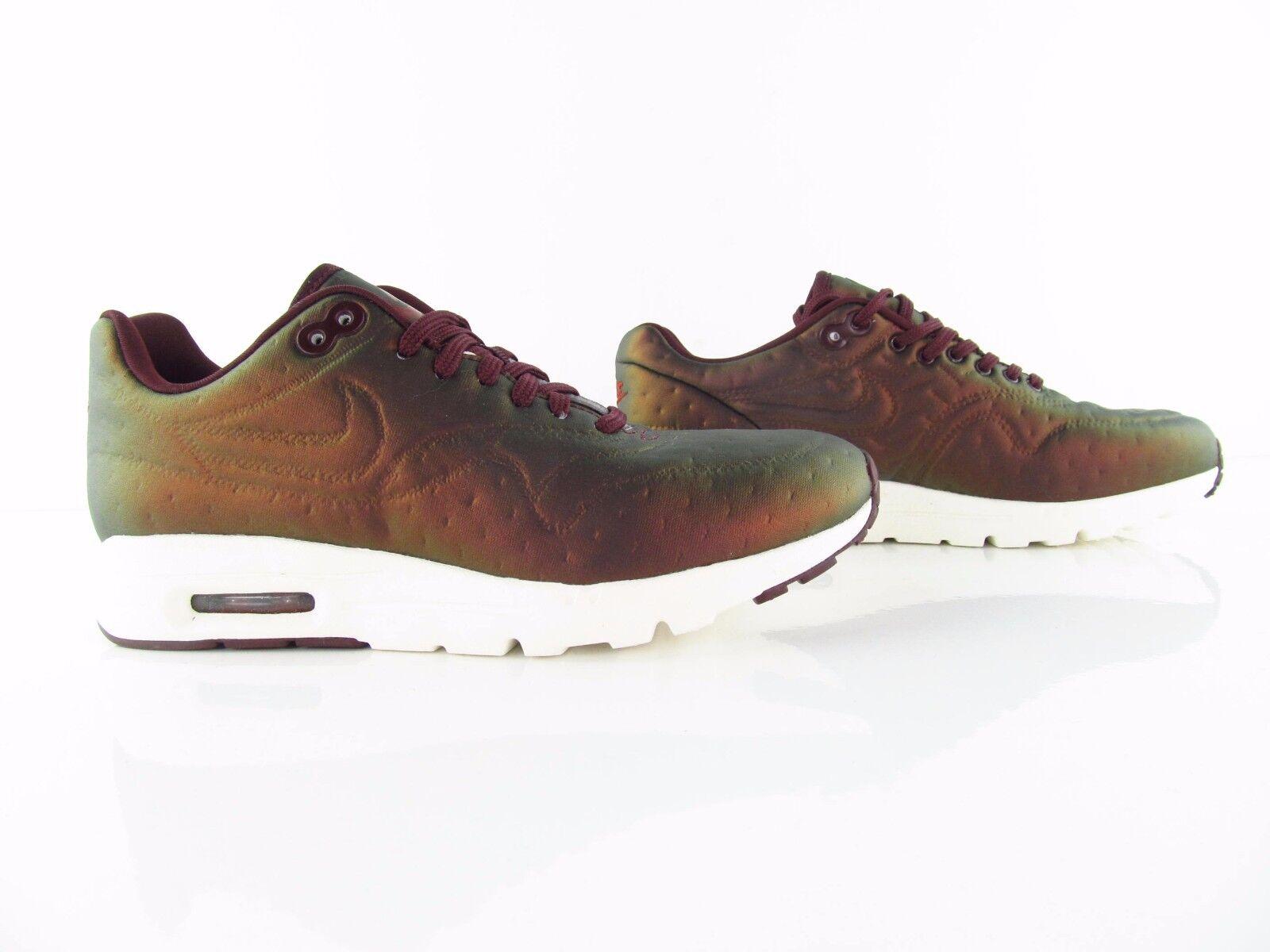 Nike Wmns Air Max 1 Ultra Premium Jacquard Metallic Mahogany US_7  Eur 38 best-selling model of the brand