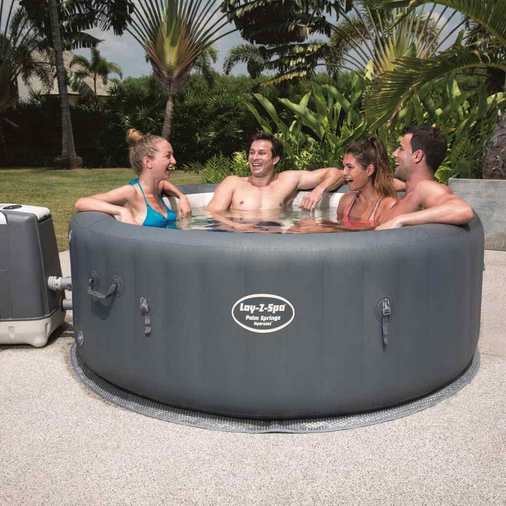 Bestway Whirlpool Aufblasbar Heizung Massage Lay-Z-Spa Indoor Outdoor Pool