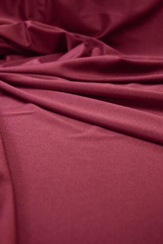 Sustancia burdeos bi-stretch brillo 150cm de ancho 190g//m² 80/% poliamida 20/% elastano