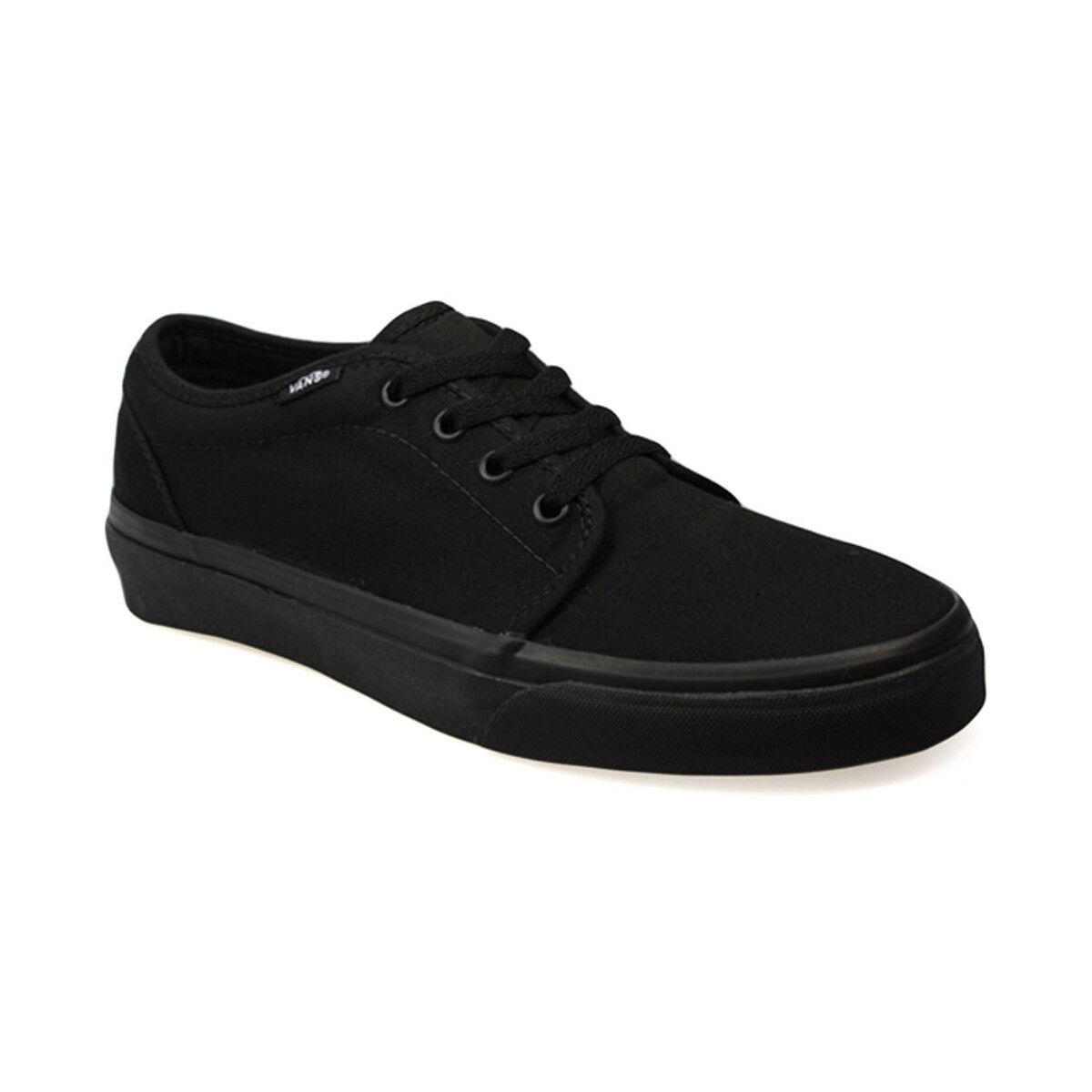 Vans 106 Vulcanized Black Black Mens Shoes Sneakers VN-099ZBL