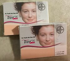DIANE 35 Contraceptive & Acne Papulopustulosa, Made in Germany (US seller)