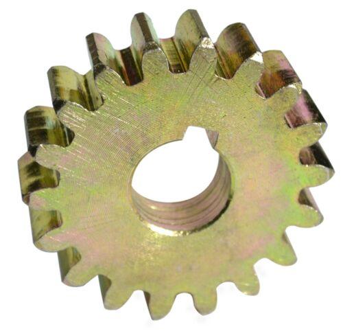 Ritzel Modul 4 D.80mm D.25mm  Zähne 18 Stahl Torantrieb  Schiebetor