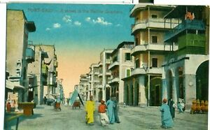 POSTCARD-EGYPT-Port-Said-Native-Quarters