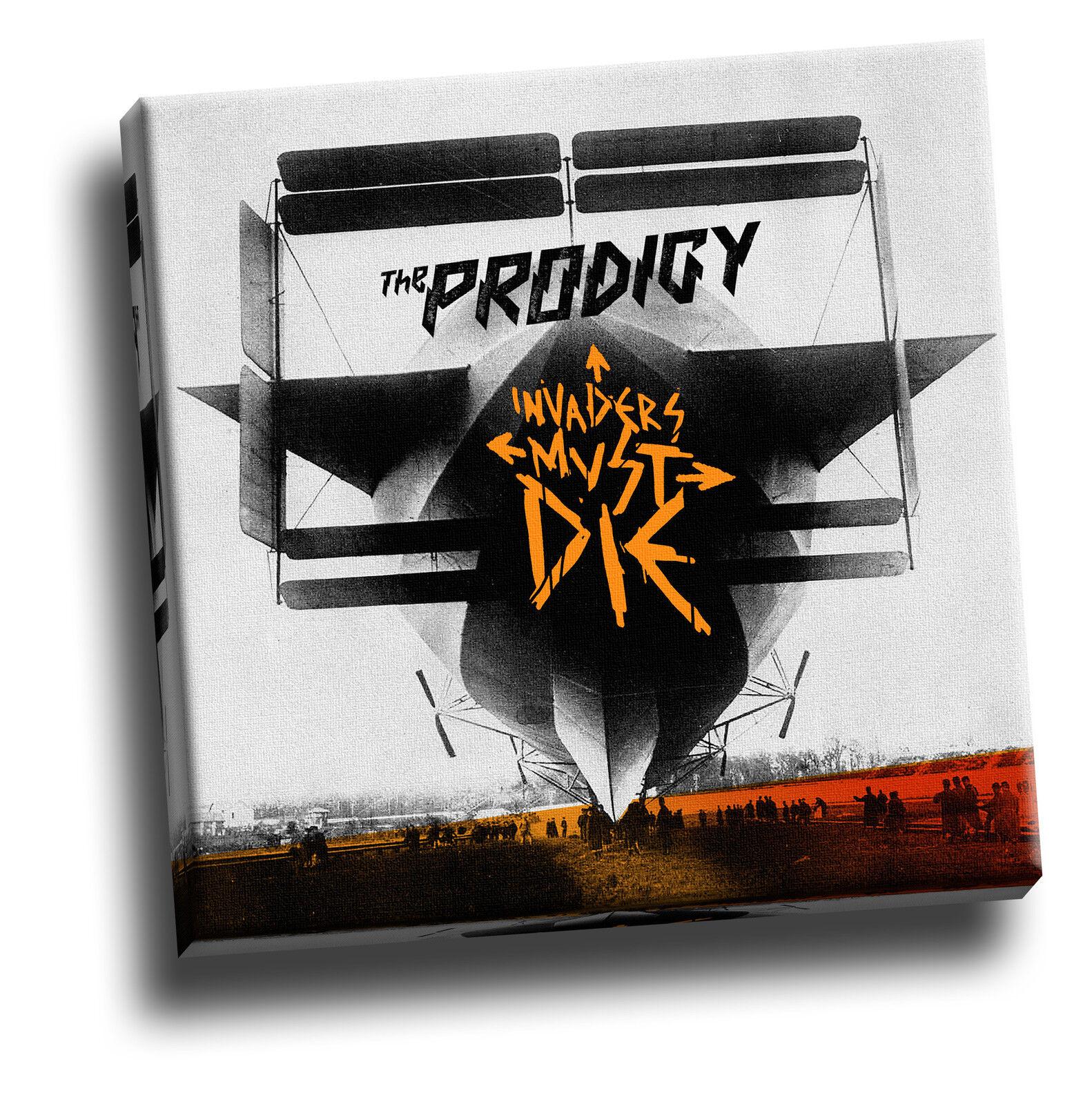 Il Prodigy-INVASORI dovranno ancora morire REGALO TELA copertina d'album QUADRO ARTE