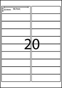 a4 labels avery compatible labels 100 sheets 20 labels page dl