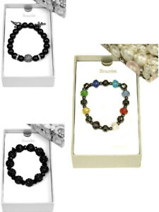 Womens-Bracelet-Crystal-Beads-Jewellery-Fashion-Friendship-Gift-Boxed-New