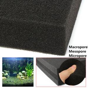 50x30x4cm-Black-Aquarium-Fish-Tank-Pond-Sponge-Biochemical-Cotton-Filter-Foam
