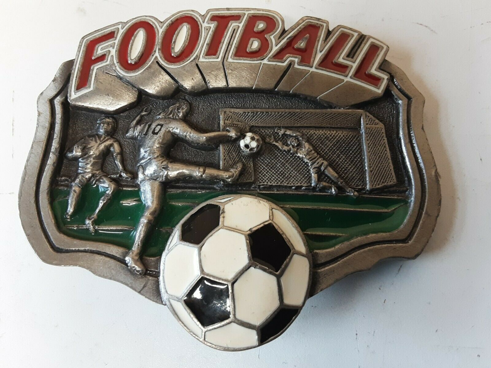 Belt buckle Football DD131 . 1995 .Very good condition (E1)