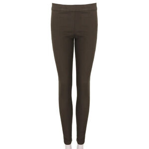 The-Row-Licorice-Brown-Skinny-Fit-Trousers-Pants-M-UK10-US6