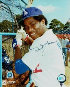 Dusty-Baker-Hand-Signed-8x10-Photo-Dodgers-30HR-Member-MLB-Holo