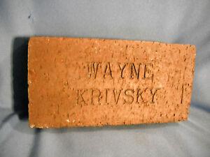 WAYNE-KRIVSK-Globe-Life-Ballpark-Engraved-Brick-Cincinnati-Reds-Twins-Rangers