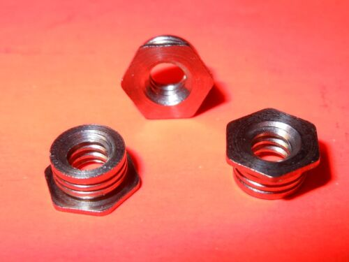 6-32 Stainless Steel Flush-Mount Press-Fit Nut for Sheet Metal Qty 100