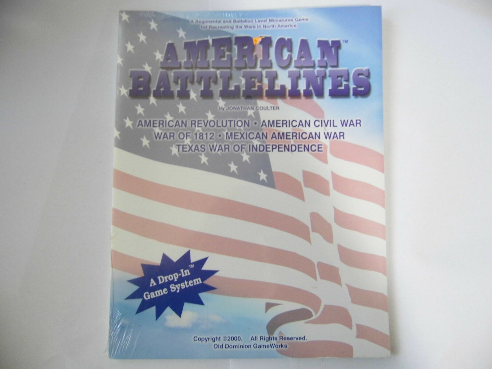 AMERICAN BATTLELINES  - WARGAMES RULES - NEW SEALED