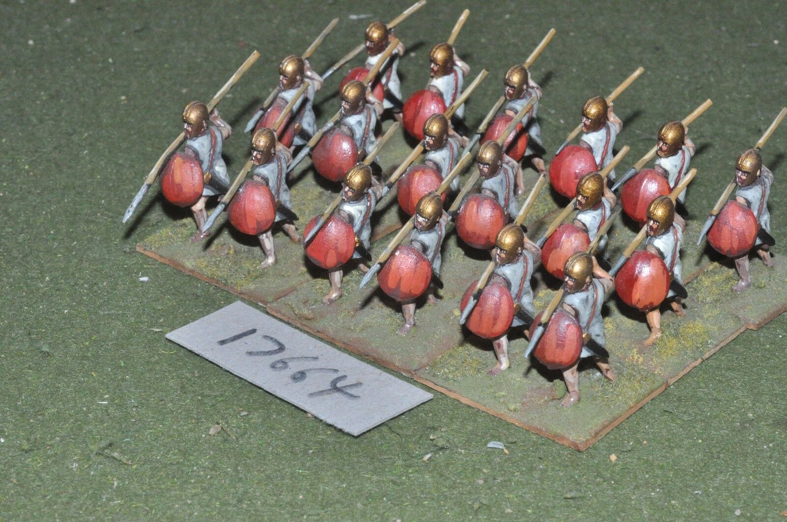 25mm classical   greek - javelinmen 18 figs - inf (17664)
