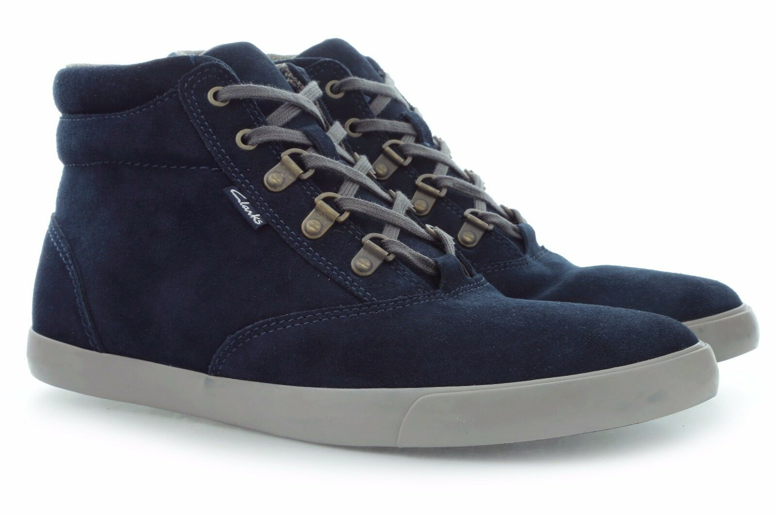 NEW CLARKS TRAINERS TORBAY PEAK HI TOP SOFT SUEDE TRAINERS CLARKS BOOTS VARIOUS SIZES a8783f