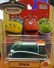 Chuggington Wooden Railway OLWIN from Learning Curve NEW