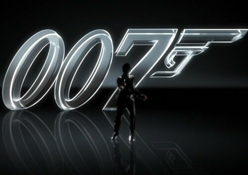 A1 - A5 SIZES AVAILABLE JAMES BOND 007 MOVIE GLOSSY WALL ART POSTER