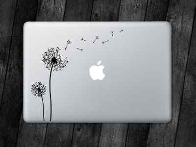 Dandelion Sticker Dandelions Decal Apple MacBook iPad Laptop Car Window