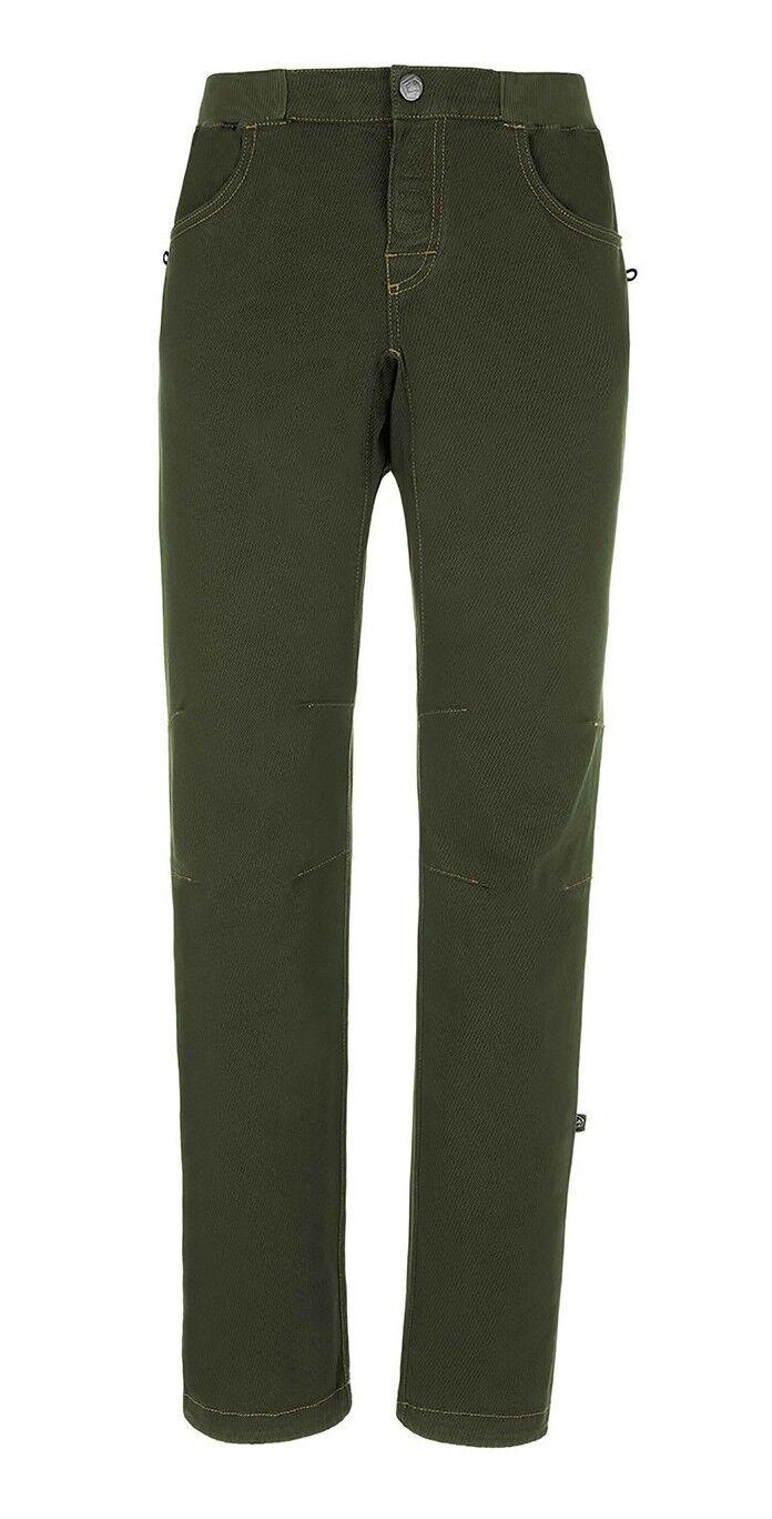 E9 Lun 10 Inverno Pantaloni per Arrampicata per Uomini Musk