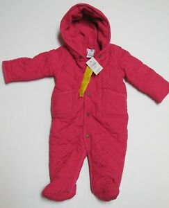 fca800c9be1a Brand New Baby Girl Pink Ralph Lauren Quilted Snow Suit 9m ...