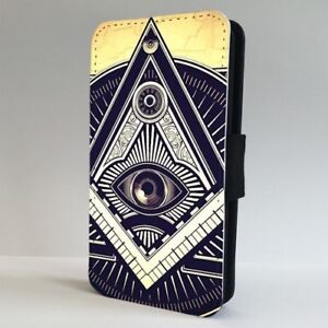 Details about Illuminati All Seeing Eye Symbol FLIP PHONE CASE COVER for  IPHONE SAMSUNG