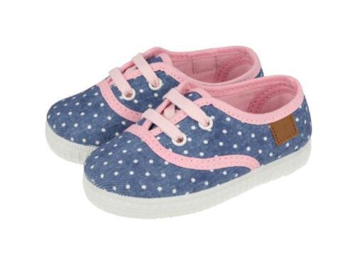 Modèle Jeans Tissu Rose Lacets Avec Pois À Gioseppo Chaussures Reine Fille Bébé SwqxU7p