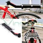 Portapacchi posteriore tubo sella bici bicicletta mountain bike viaggio pacchi