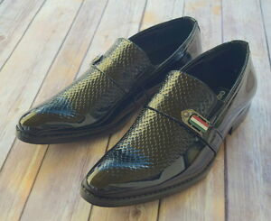 nice italian style mens dress/casual shoes color black