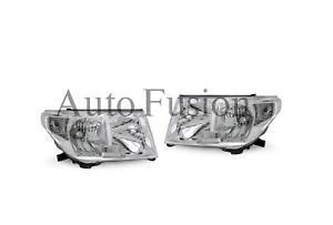 Headlights Pair For Toyota Landcruiser 200 Series UJZ200/VDJ200 (2007-2011)