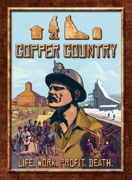 Jeu de société Copper Country - CMX Games - Bord game - Neuf emballé
