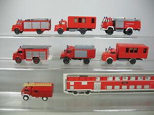 Ai781-0-5-7x-Wiking-Roco-modelos-h0-Unimog-camion-mercedes-Benz-MB-bomberos-FW