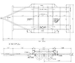 Car trailer building plans cd car hauler truck flat bed how to image is loading car trailer building plans cd car hauler truck malvernweather Images