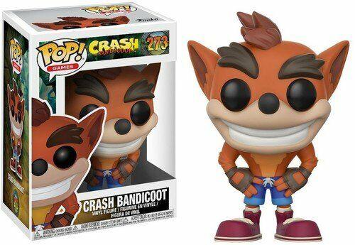 Crash Bandicoot #273 w// Protector Case Games Crash Bandicoot Funko POP