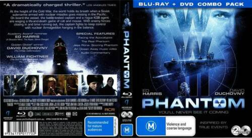 1 of 1 - Phantom  Blu-Ray & DVD Combo Pack (Blu-ray, 2013)