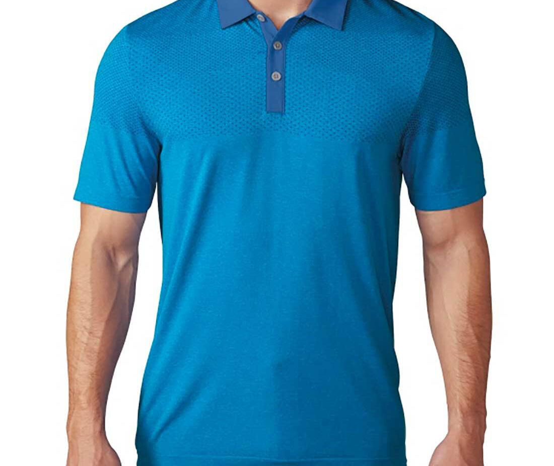 Adidas Climacool Primeknit Polo (M) BC1204 bluee