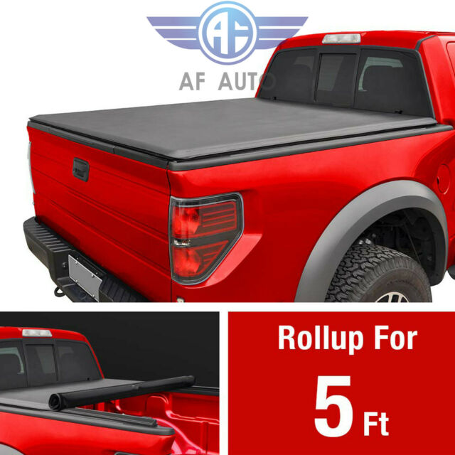 Renoster Fit 2016 19 Toyota Truck Tacoma Bed 5ft Soft Roll Up Tonneau Cover For Sale Online Ebay