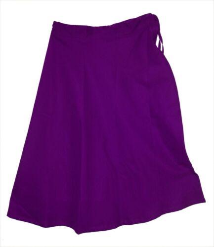Sari Saree Cotton Petticoat Matching Underskirt Bollywood Indian Skirt 24 Color