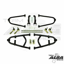 TRX 450R TRX450R  +2  A ARMS  Chromoly  Adjustable   Long Travel    Alba Racing