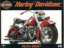MOTOR CYCLES / UN SIECLE DE HARLEY DAVIDSON / ANNEE 2012 / N° 09 HYDRA GLIDE