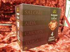 ESOTERIC USED SACD ESSE-90072-80 (9 discs) Karajan and Callas 4 Great Operas