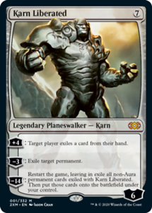 Karn Liberated - Foil x1 Magic the Gathering 1x Double Masters mtg card