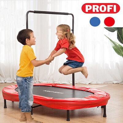 Profi Kindertrampolin Garten Trampolin Fur Zwei Kinder Indoor Sport Bis 100kg Ebay
